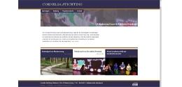 Afbeelding bij het nieuwsbericht: Website Cornelia-Stichting online