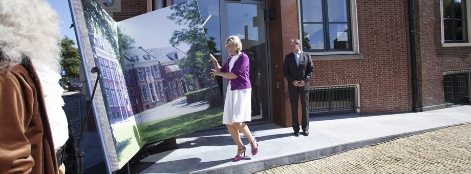 Feestelijke opening Fryske Akademy door H.K.H. Prinses Laurentien