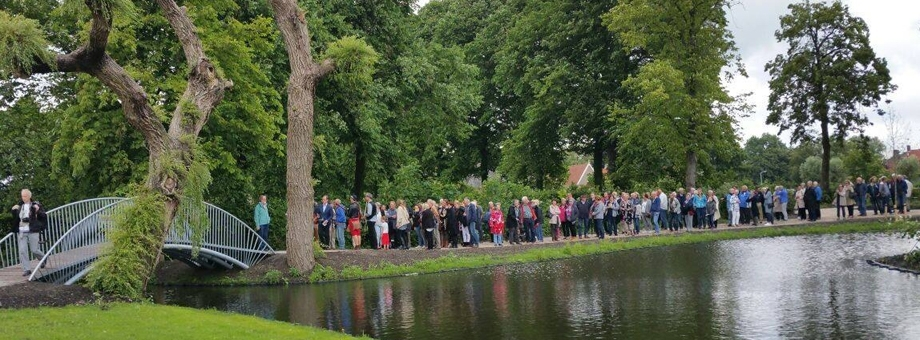 Feestelijke opening Wilhelminapark